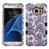 Military Grade Certified TUFF Image Hybrid Case for Samsung Galaxy S7 Edge - Persian Paisley