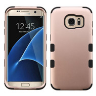 Military Grade TUFF Hybrid Case for Samsung Galaxy S7 Edge - Rose Gold