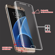 Curved Coverage Crystal Clear Screen Protector for Samsung Galaxy S7 Edge