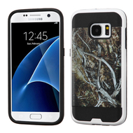 Brushed Graphic Hybrid Armor Case for Samsung Galaxy S7 - Tree