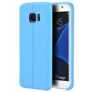 Slim Jacket TPU Case for Samsung Galaxy S7 Edge - Blue
