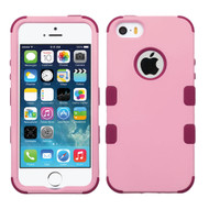 Military Grade Certified TUFF Hybrid Case for iPhone SE / 5S / 5 - Soft Pink Rose