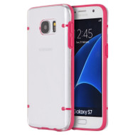 Tentacles Hybrid Case for Samsung Galaxy S7 - Hot Pink