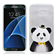 *Sale* Graphic Rubberized Protective Gel Case for Samsung Galaxy S7 - Panda