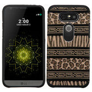 Hybrid Multi-Layer Armor Case for LG G5 - Leopard Zebra