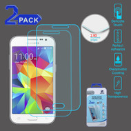 Premium Round Edge Tempered Glass Screen Protector for Samsung Galaxy Core Prime / Prevail LTE - Twin Pack