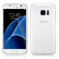 Perforated Transparent Cushion Gelli Case for Samsung Galaxy S7 - Clear
