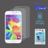 Anti-Glare Clear Screen Protector for Samsung Galaxy Core Prime / Prevail LTE - Twin Pack