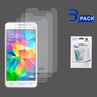Crystal Clear Screen Protector for Samsung Galaxy Grand Prime - 3 Pack