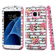 Verge Image Hybrid Armor Case for Samsung Galaxy S7 - Fresh Roses