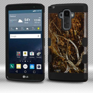 Military Grade Certified TUFF Trooper Dual Layer Hybrid Armor Case for LG G Stylo / Vista 2 - Tree