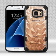 Challenger Polygon Hybrid Case for Samsung Galaxy S7 - Black
