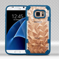 Challenger Polygon Hybrid Case for Samsung Galaxy S7 - Blue