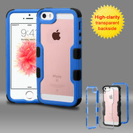 TUFF Vivid Hybrid Armor Case for iPhone SE / 5S / 5 - Blue