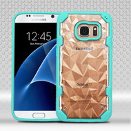 Challenger Polygon Hybrid Case for Samsung Galaxy S7 - Teal