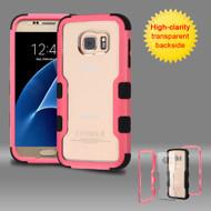 TUFF Vivid Hybrid Armor Case for Samsung Galaxy S7 - Pink