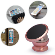 *FINAL SALE* Universal Magnetic Dashboard Mount Phone Holder - Rose Gold