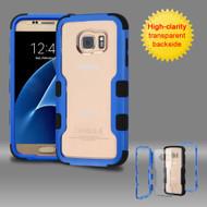 TUFF Vivid Hybrid Armor Case for Samsung Galaxy S7 - Blue