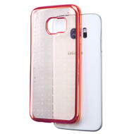 SPOTS Electroplated Premium Candy Skin Cover for Samsung Galaxy S7 Edge - Rose Gold