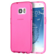 Comtempo Series Shockproof TPU Case for Samsung Galaxy S7 - Hot Pink