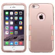Military Grade Certified TUFF Hybrid Case for iPhone 6 Plus / 6S Plus - Rose Gold 086