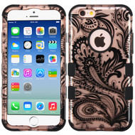 Military Grade Certified TUFF Image Hybrid Case for iPhone 6 / 6S - Phoenix Flower Rose Gold