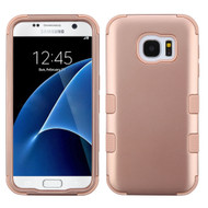 *SALE* Military Grade Certified TUFF Hybrid Case for Samsung Galaxy S7 - Rose Gold 086