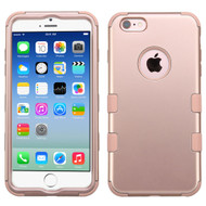 Military Grade Certified TUFF Certified Hybrid Case for iPhone 6 / 6S - Rose Gold 086