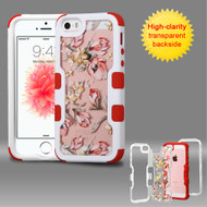TUFF Vivid Graphic Hybrid Armor Case for iPhone SE / 5S / 5 - Painted Flowers