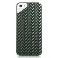 Platinum Lux Jacket Case for iPhone SE / 5S / 5 - Diamond Plate