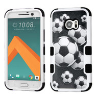 *Sale* Military Grade TUFF Image Hybrid Armor Case for HTC 10 - Soccer Ball