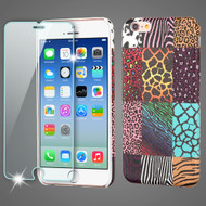 Mod Leather Graphic Case and Tempered Glass Screen Protector for iPhone 6 / 6S - Safari