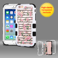 TUFF Vivid Graphic Hybrid Armor Case for iPhone 6 / 6S - Fresh Roses