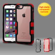 TUFF Vivid Hybrid Armor Case for iPhone 6 Plus / 6S Plus - Black Red