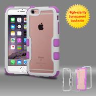 TUFF Vivid Hybrid Armor Case for iPhone 6 Plus / 6S Plus - White Purple