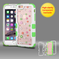 TUFF Vivid Graphic Hybrid Armor Case for iPhone 6 Plus / 6S Plus - Tiny Blossoms
