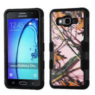 Military Grade Certified TUFF Image Hybrid Armor Case for Samsung Galaxy On5 - Pink Oak Camouflage