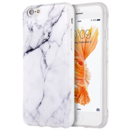 Marble TPU Case for iPhone 6 Plus / 6S Plus - White