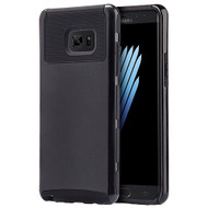 Glossimer UV Coating Dual-Layer Hybrid Armor Case for Samsung Galaxy Note 7 - Black