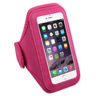 Neoprene Sport Plus Fitness Armband - Hot Pink