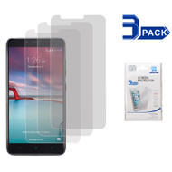 Crystal Clear Screen Protector for ZTE Zmax Pro / Grand X Max 2 / Imperial Max / Max Duo 4G - Three Pack