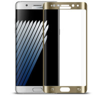 HD Curved Coverage Premium Tempered Glass Screen Protector for Samsung Galaxy Note 7 - Gold