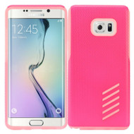 Multi-Layer Hybrid Armor Case for Samsung Galaxy Note 7 - Hot Pink