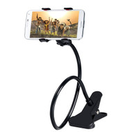 *SALE* Universal Gooseneck Long Arm Clip-on Table Mount for Smartphones - Black