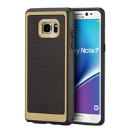 Protek Premium Brushed TPU Case for Samsung Galaxy Note 7 - Gold