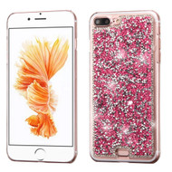 Desire Bling Bling Crystal Cover for iPhone 8 Plus / 7 Plus - Rhinestones Hot Pink