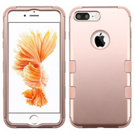 Military Grade Certified TUFF Hybrid Armor Case for iPhone 8 Plus / 7 Plus - Rose Gold