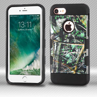Military Grade Certified TUFF Trooper Dual Layer Hybrid Armor Case for iPhone 8 / 7 - Cedar Tree Camouflage