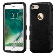Military Grade Certified TUFF Hybrid Armor Case for iPhone 8 / 7 - Black