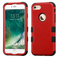 Military Grade Certified TUFF Hybrid Armor Case for iPhone 8 / 7 - Red